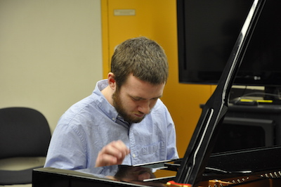 Piano Instructor Brendan McGrath